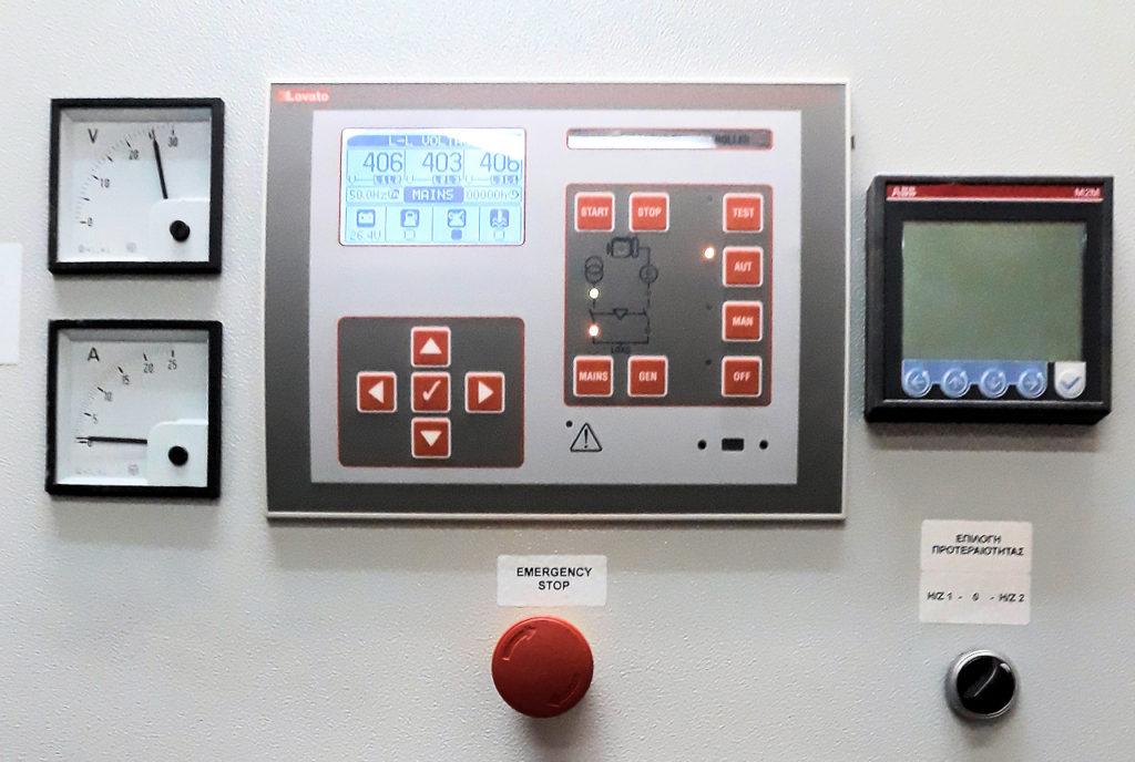 Πάνελ γεννήτριας | Γονίδης γεννήτριες, ενοικίασης ηλεκτροπαραγωγών ζευγών | Gonidis generators