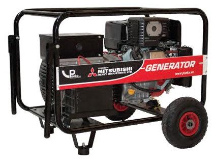 Γεννήτριες Mistubishi 8 KVA | Γονίδης γεννήτριες, ενοικίασης ηλεκτροπαραγωγών ζευγών | Gonidis generators